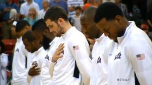تیم ملی امریکا قبل از راهیابی به المپیک لندن