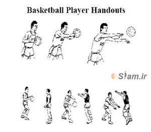 مقاله ی علمی - جزوات بازیکنان بسکتبال basketball player Handouts